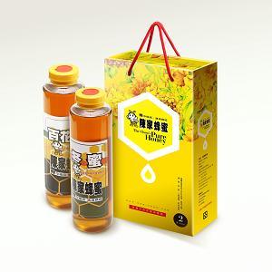 冬蜜+百花蜜禮盒800g*2(原價850特惠800元)