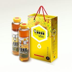 冬蜜+龍眼蜜禮盒800公克*2(原價950特價900元)